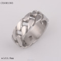 Wholesale Men's Braided Stainless Steel Ring