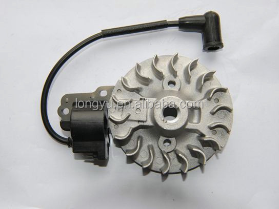High quality Honda GX31 magneto flywheel and ignition coil for 31CC engine