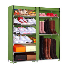 Folding Storage Shoe Cabinet Tower Rack Organizers Shoe Rack For Boot