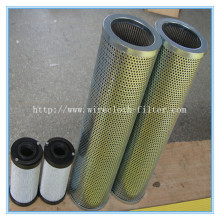 perforated metal cartridge filter /basket filter screen