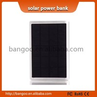 New launched portable solar panel charger with solar cell,Solar Power Bank with 10000mah battery,solar charger for mobile phone