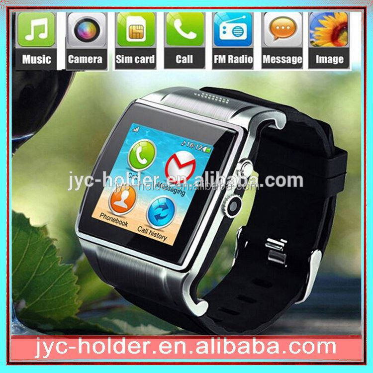 bluetooth watch with caller id , for android smart phone ,H0T004 latest wrist watch mobile phone