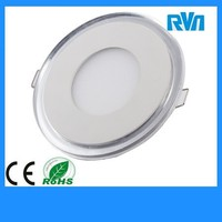 20W round white & blue recessed dimmable clolor led panel light CE ROHS approved