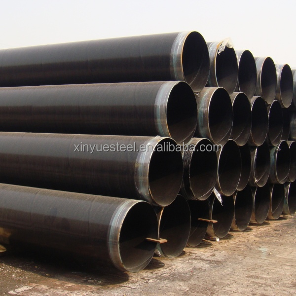 Spiral pipe oil and gas pipeline