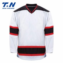 Lightweight Customized Hockey Jersey Breathable Adult Men