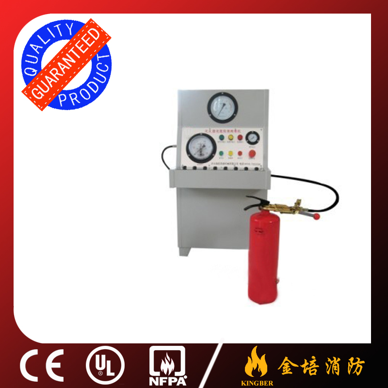 Hot Selling Fire Extinguisher Nitrogen Filling and Gauge Check Machine