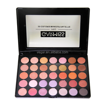 No logo 35 color matte and shimmer makeup eyeshadow palette
