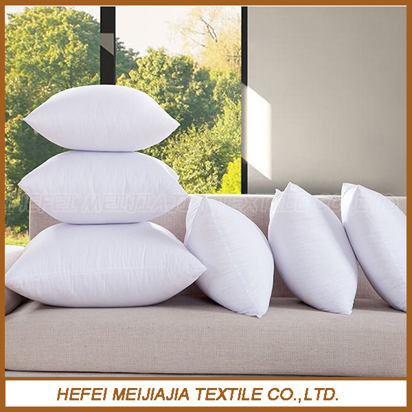 Wholesale cheap feather down filled cushion for sofas and bedding