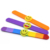 Cheap Custom Shape Silicone Fluorescent Slap With Charm