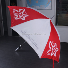 Hot sale custom manual straight promotional advertising umbrella