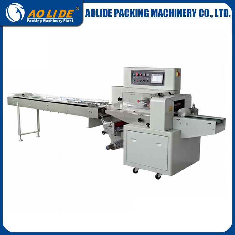 copra cake packing machine fruit cup cake packaging machine &flow wrapping machine ALD-350D ALD-250/320/350
