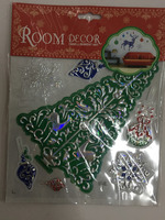 3D Christmas Stickers Embellishment art Room Decor