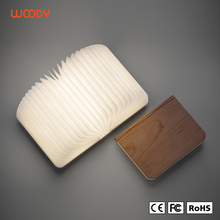 Woody hot sale flexible led light night reading lamp folding led book lamp
