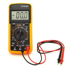 Yellow Holster Low Price Digital Multimeter DT9205A DT9208A