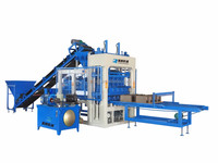 QT5-15 quarry stone cutting machine production line kama diesel engine In Ghana