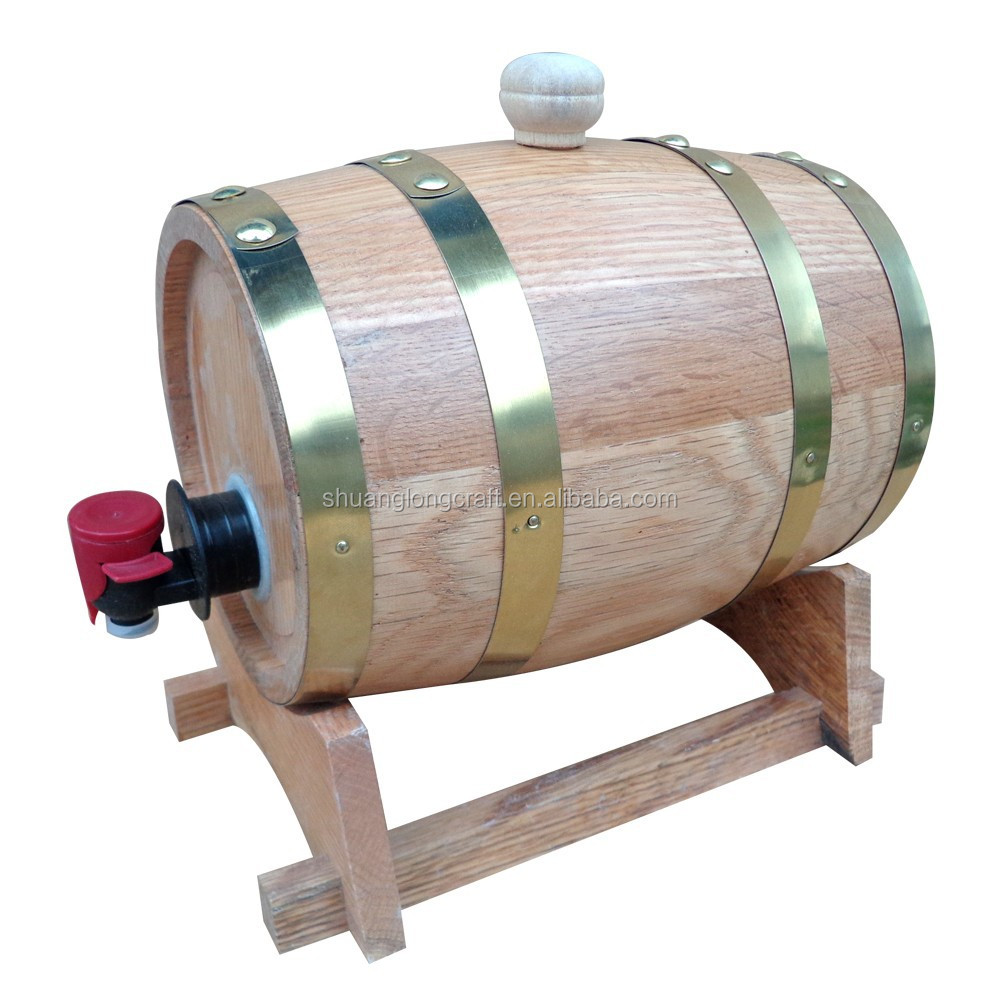 High Quality Waterproof Wooden Beer <strong>Barrel</strong> Ice Bucket