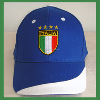 100% cotton material and embroidered pattern baseball cap