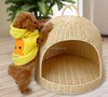 Xiaoshan wicker rattan indoor pet cat house