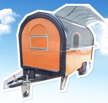 hot dog cheap price ice cream cart with wheels/selling food truck for sale