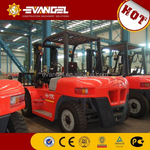 used toyota forklift 5ton YTO diesel forklift CPCD50 made in China for sale