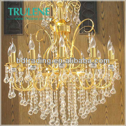 2013 new arrival superior K9 crystal chandelier lighting,European style chandelier,colored chandelier