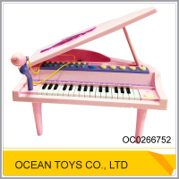 32keys pink toy microphone plastic keyboard musical OC0266752