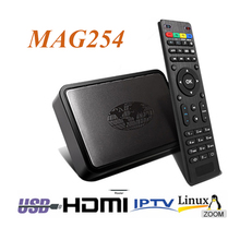 HD professional full HD TV internet tv ip hdtv 1080p linux system mag 254 iptv box mag 254
