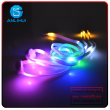 Party Decorations Colorful Wholesale Nylon Light Up Your Shoes LED Glitter Shoelaces