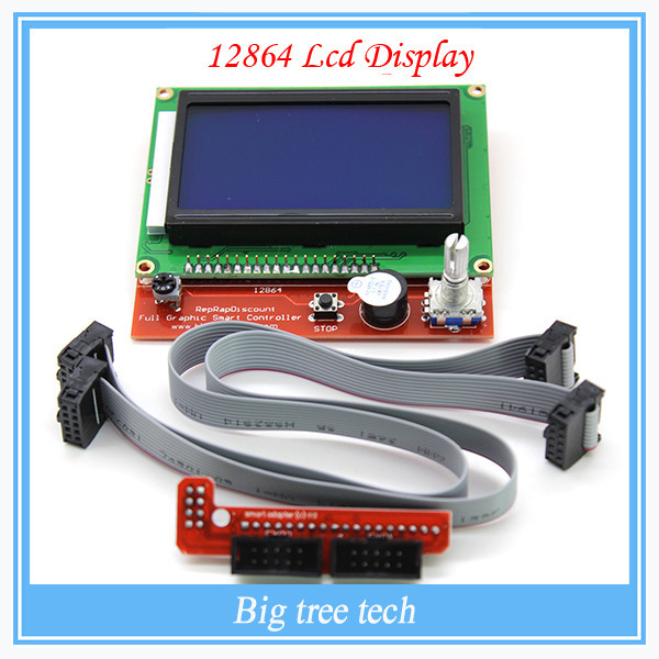 China Wholesale Smart Controller Reprap Ramps 1.4 12864 LCD 3D printer reprap LCD Dispaly for Sale