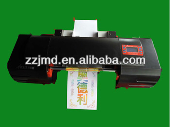 cheap plateless factory direct-selling digital hot foil stamping machine ,numeric printer