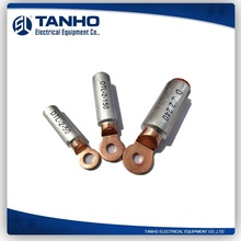 TANHO DTL-2 type Bimetallic Connecting Terminals Aluminium Copper Cable Lugs