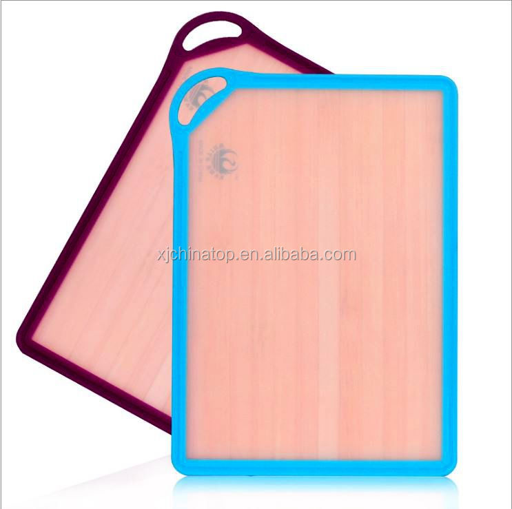 JK14406D Plastic Frame Non Slip Cutting Board Wood