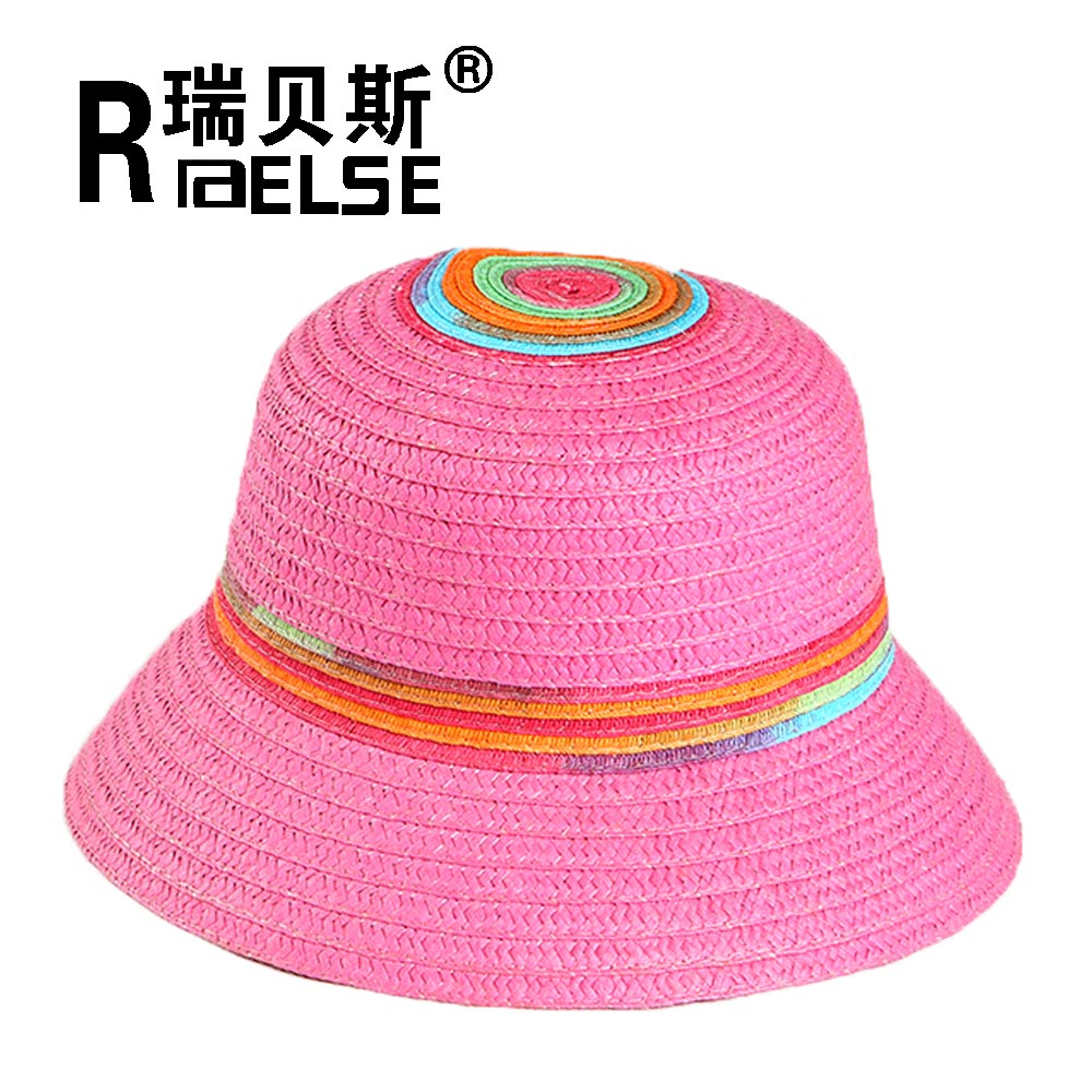 children fashion hat paper straw hat