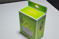 C1s art paper box with transparent window for headphone packaing good price customized box accept