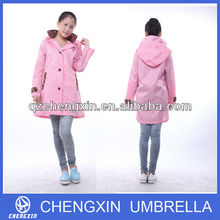 fashion clear funky raincoats for women