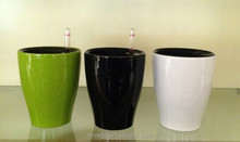 hot sale home decoration self water plastic cup pots