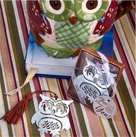 owl bookmark baby shower party kid favor gift