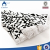 Cheap wholesale 100% cotton printed round beach towel with tassels