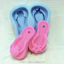 Diy 3d decorating silicone soap molds for funny baby shoes