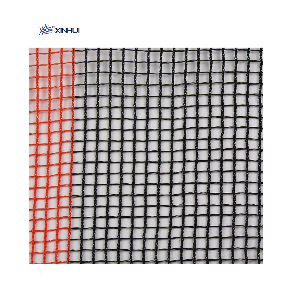 HDPE Knitted Construction Security Square Grid Orange Scaffolding <strong>Net</strong>