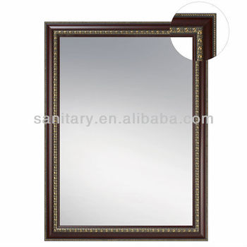 Modern wooden frame bathroom mirror buy wooden frame bathroom mirror oak framed bathroom - Consider buying bathroom mirror ...