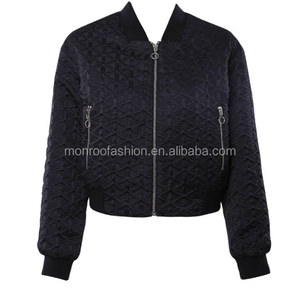 MONROO fashion women shorts baseball sport jacket