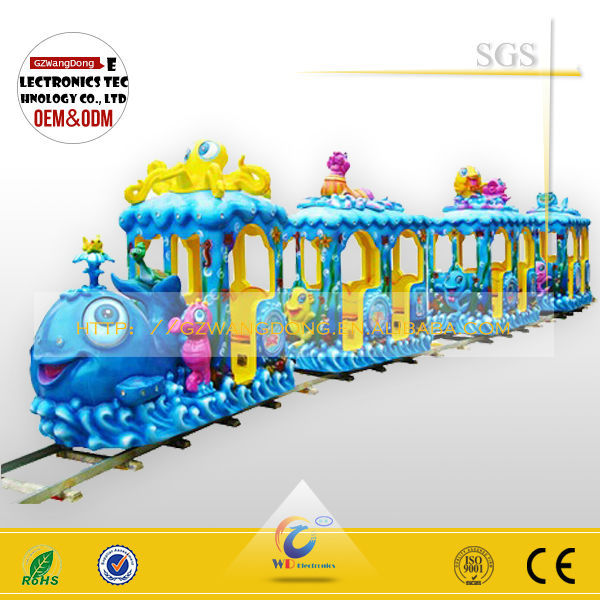 WD-A39 electric mini train, mini train rides for sale with good quality