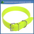 waterproof gold quality PVC pet collars