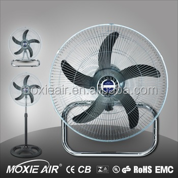 factory new model 18 inch cheap industrial standing fan with iron blade