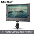 Seetec hd video camera hdmi monitor 1024x600 resolution LED backlight 7 portable tv for bmcc cage