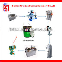 Semi-automatic Complete Tea Can Packing Machine