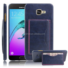 Alibaba China filp stand case cover for galaxy A9,leather case for Samsung Galaxy A9