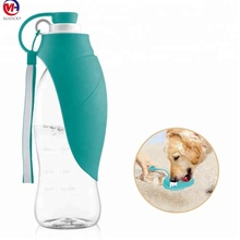 Dog Water Bottle for Walking, Outdoor Portable Pet Travel Bottle, Water Filtration & Antibacterial Dogs Cats Drinking Water Bot