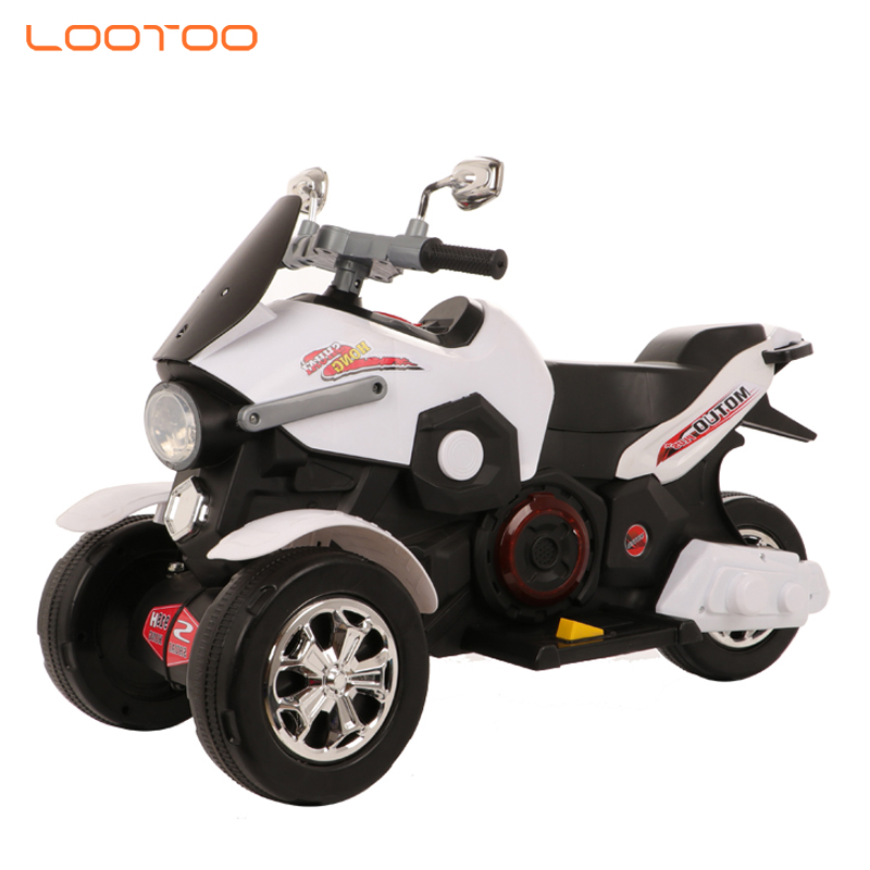 Top popular 3 wheel battery 6v electric children motorcycle for boys riding